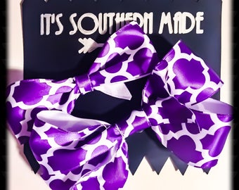 Moroccan Bow Collection in Purple