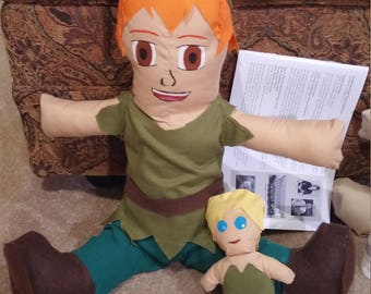 Peter Pan and Tinker Bell Plushies