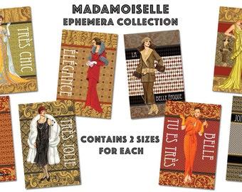 Madamoiselle Ephemera Digital Download