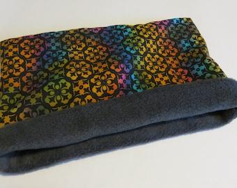 "14"" Neon Cuddle sleep sack bag for guinea pig/hedgehog/rat/ferret- Cute handmade bag"