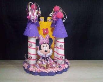 Minnie Mouse Castle Centerpiece