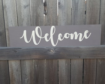 Welcome Sign, Wooden Sign, Housewarming Gift, Entryway Sign, Wooden Welcome Sign, Home Sign, Room Decor, Wall Art, Gifts for Newlyweds