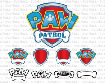 SVG, DxF, PNG, Eps, PDF Files, Paw Patrol Svg Files, Paw Patrol Logo Emblem Pdf File, Paw Patrol Png, Paw Patrol Logo Svg, Instant Download