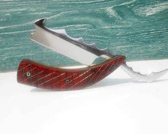 Tail of Dragon Rare Custom Hand  Made Straight Razor