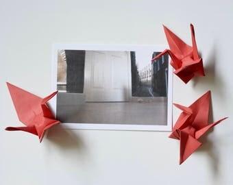 Sepia alleyway - postcard print