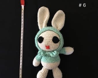 Crochet Stuff Doll, Crochet Plush Doll