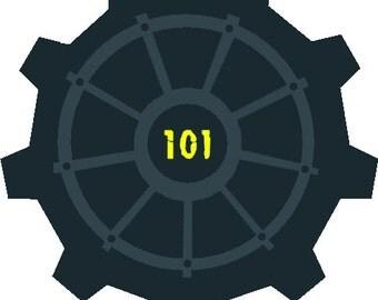 Fallout Vault Door vault door | etsy