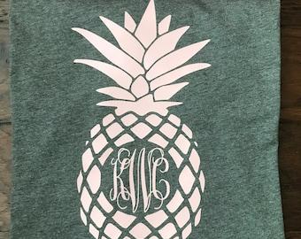 Monogram Pineapple Soft T-Shirt