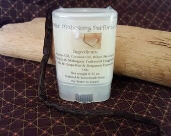 Vanilla Mahogany Perfume Solid