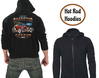 Zipper hoodie t-bucket