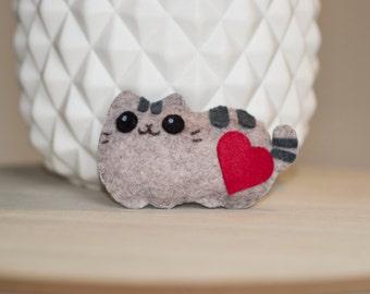 Cat mini plush felt