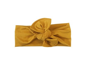 Headwrap /// Mustard