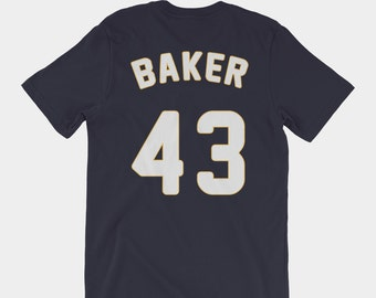 Ginny Baker #43 Jersey Tee | Pitch TV Show T-Shirt