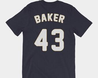 Ginny Baker #43 Jersey Tee | Pitch TV Show T-Shirt