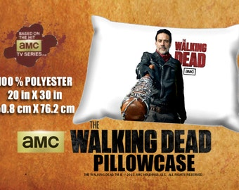 The Walking Dead Negan Jeffrey Dean Morgan Pillowcase
