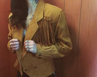 Fringe Leather Dream Jacket