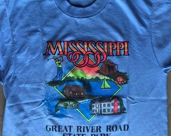Vintage Mississippi Tourist Tee