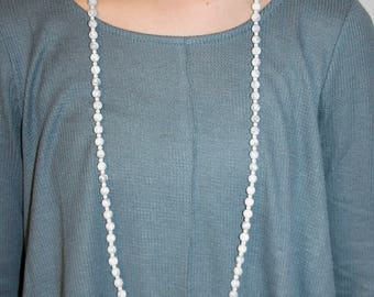 Double Wrap Beaded Necklace