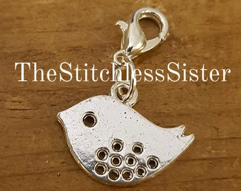 Little Bird Stitch Marker/Keeper