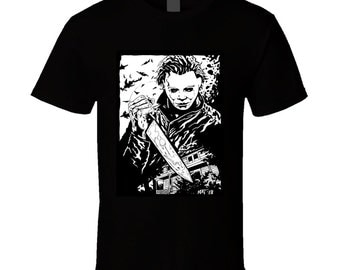 Michael Myers Tee T Shirt