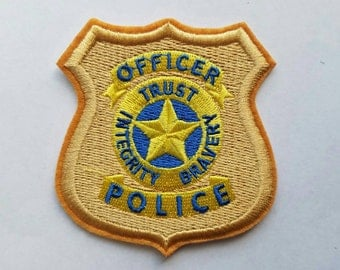 Judy Hopps police patch iron on inspired patch, Judy Hopps inspired patch