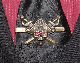 Steampunk Pirate Tie Clip