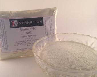 Royal Milk Bath - Herbal Bath Salts
