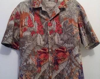 Vintage Tropical Floral 90s Retro Shirt