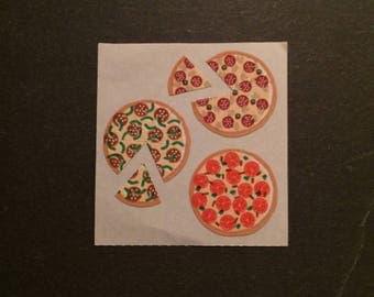 Sandylion vintage very rare pizza slice stickers