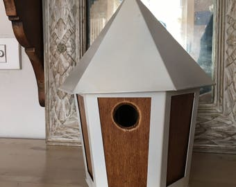 VINTAGE BIRD HOUSE garden living