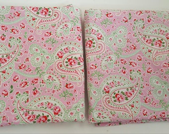 Shams Standard / CATH KIDSTON / ROSALI / Pink Paisley / Ikea Vintage / Gorgeous Shabby Chic or Cottage Style / Great Condition