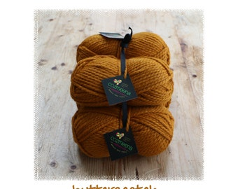 Cozmeena Shawl Kit ~ Butterscotch