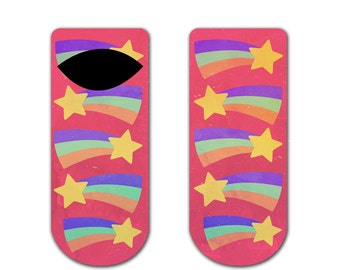 s27 - MABEL Pines GRAVITY FALLS - Ankle One Size Fits All Socks