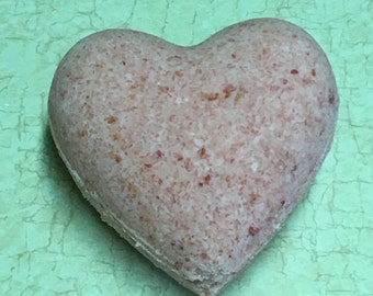 Rose Heart Bath Bombs
