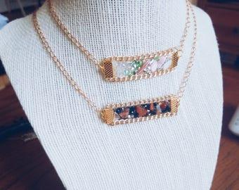 wonderland chain choker necklace