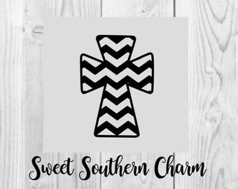 Chevron Cross SVG - SVG file - SVG files - svg - cross svg file - cross template - chevron svg files - cross svg files - Chevron Cross