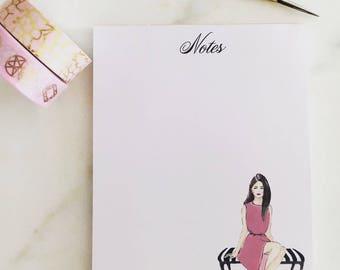 "Notepad ""Elegant Notes"""
