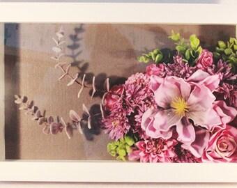 Original WWDH Allegro Floral Framed Wall Art