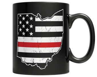 Limited Edition Firefighters - I fight what you fear Ohio Brotherhood Mug