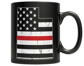 Limited Edition Firefighters - I fight what you fear Utah Brotherhood Mug