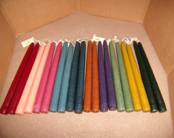 Mole Hollow 10 inch Taper Candles