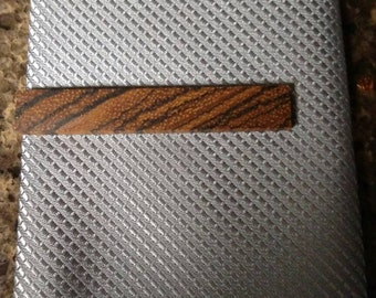 Zebra Wood Tie Bar