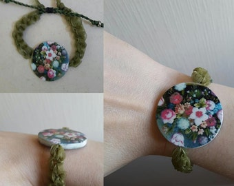 FLOWER LOCKET BRACELET