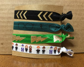 Slytherin Harry Potter Hair Ties