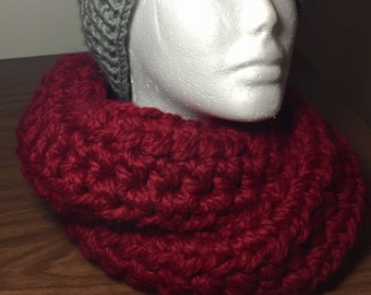 Thick n Cozy Infinity Scarf custom color