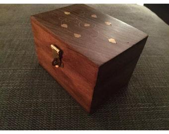 Beautiful wooden Essential oil starter gift