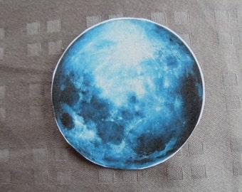 Moon Themed Sticker