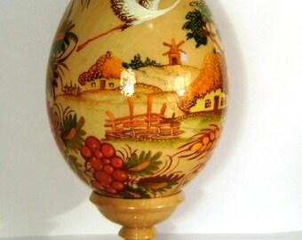 Ukrainian hand painted egg
