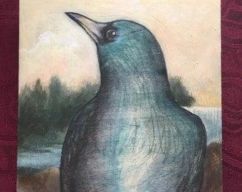 Original Bird Print