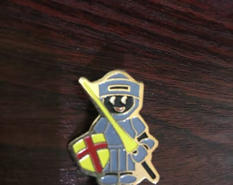 J.Robertsons Knight  Collectable  Metal Pin/Badge